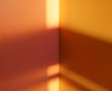 Light and shadows on wall