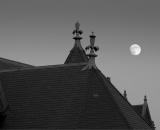 full-moon-above-auburn-library_B-W 01008