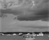 boats-in-harbor-under-storm-clouds_B-W 02030