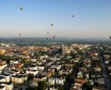 Hot air ballons over Lewiston