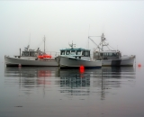 fishing-boats-at-anchor-with-red-bouys-Cutler-Harbor_DSC07756