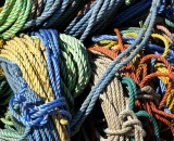Tools of the trade; colorful ropes