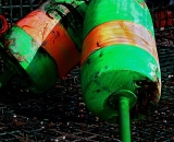 green-and-orange-lobster-bouys__COS 108