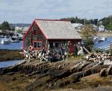 Lobster shack on Bailey's Island