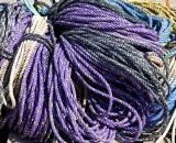Purple fisherman's ropes