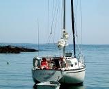 sailboat-and-skiff-at-anchor_COS 143