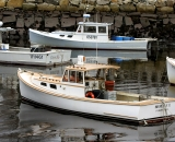 Lobster Boats in Perkins Cove - 06