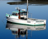 fishing-boat-with-reflection-at-low-tide-at-Pine-Point_COS 224