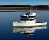 fishing-boats-with-reflection-at-low-tide-at-Pine-Point_COS 225