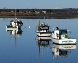 fishing-boats-with-reflection-at-low-tide-at-Pine-Point_COS 226