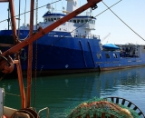 gear-and-large-ship-in-Portland-Harbor_DSC03780