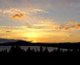 Rangeley Lake at Sunset