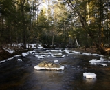 Late winter on Stetson Brook - 01