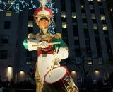 Drummer statue at Rockefeller Center