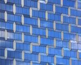 Mirrored skyscraper facade-03