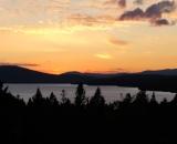 Rangeley Lake at Sunset - 01