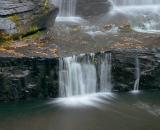 Shahola Falls on Shahola Stream - 01