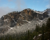 mountains-and-snow-covered trees-Yosemite_DSC07286