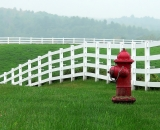 white-fence-and-red-fire-hydrant_P1090128