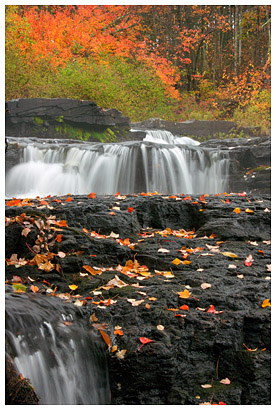 Shahola Falls in Eastern Pennsylvania