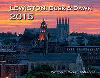 calendar cover for Lewiston dusk & dawn